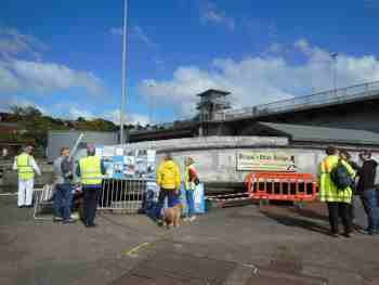 Brunel's Swing Bridge on Doors Open Day 2015